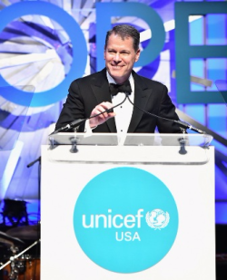 UNICEF USA Midwest Board Member and Event Chair John Luce