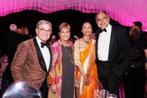 Craig and Janet Duchossois, Anita and Prabha Sinha