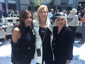 ZZAZZ Production's Tracey Tarantino DiBuono, Karen Stefani (Inspired Catering) and Elizabeth Bertucci
