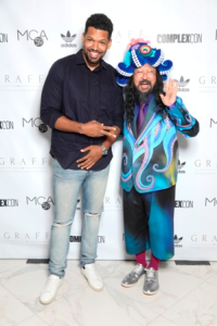 Hebru Brantley and Takashi Murakami