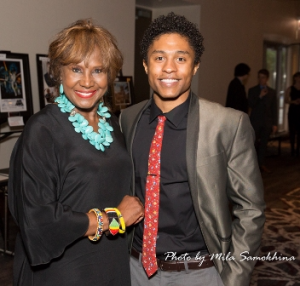 Dori Wilson with her son Travis