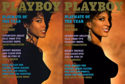 Renee Tenison, the 1st African American covergirl, Playmate of the Year 1989