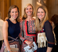 Bridget Pennise, Melissa Anton and Betsy Kilroy