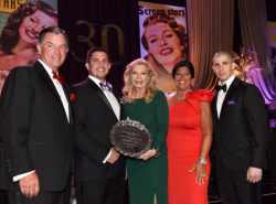 Murphy Family (Philanthropic Award winners) with Princess Yasmin Aga Khan