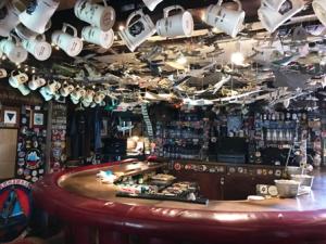"The World Famous I-Bar (from ""Top Gun"" film) on North Island Naval Station, Coronado"