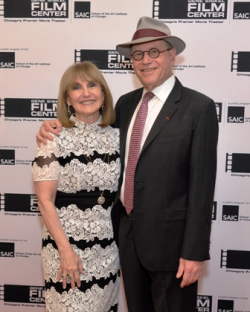 GSFC board chair Ellen Sandor with husband Richard Sandor