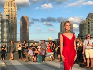 Aurelien rooftop fashion show