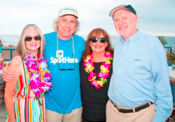 Judy and Howard Tullman with longtime pals Bonnie and Jim Spurlock