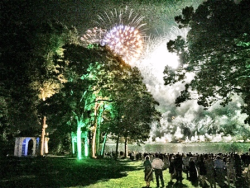 Last year's grand fireworks display