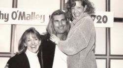 "A segment of ""The Kathy & Judy Show"" with heartthrob Fabio"