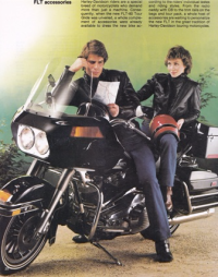Early modeling ad with Bijan's Ralf Boettger