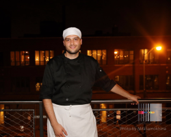 Adriano Bruzzone, head chef of RFC Pizza Pilot Program in Division 11