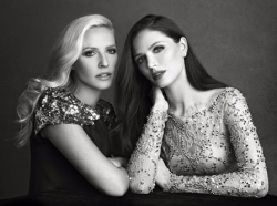 Marchesa co-founders Keren Craig and Georgina Chapman