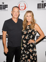 Event co-hosts Tom Hanks and Rita Wilson