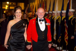 General Frazer (CAN) and Jane Burnell