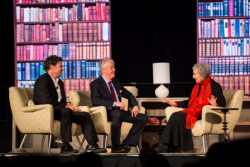 Dave Eggers, Scott Simon and Margaret Atwood's Q & A