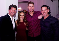 Jason Erkes, Danielle Robay, Ryan Chiaverini and David Izsak