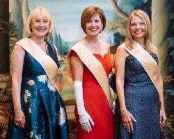 Opera Ball Hostesses Lili Gaubin, Susan Lenny and Nancy Santi