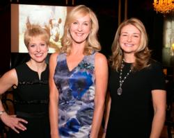 Caroline Huebner, WB President; Sarah Beardsley, ZooLA 2017 Co-Chair & WB Member; Katie Gledhill, ZooLA 2017 Co-Chair, WB Member & Zoo Trustee.