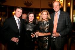 Erick & Krista Coan, Zoo Ball 2018 Co-Chair & WB Member; Barb & Keith Kizziah, Trustee
