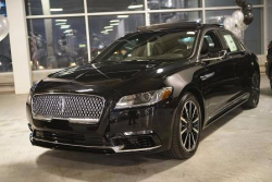 New, redesigned Lincoln Continental