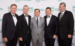 Co-chairs Tim Cavanagh, Mick O'Rourke, Bill Rogers and Mike Mackey.