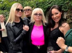 Glam guests at LA Playboy Mansion memorial