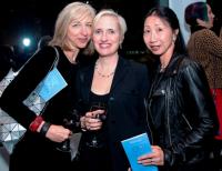 Sharon Meyers, Martina Keller (Legends Dinner co-chair), Ginny Ching Yin Lo