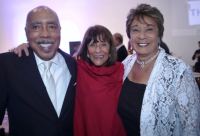 Honoree Walter Massey, Rhona Hoffman and honoree Shirley Massey