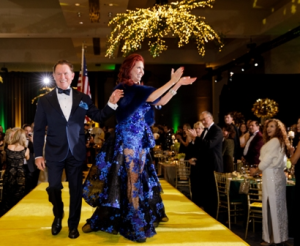 Gateway for Cancer Research founder Richard J Stephenson and Dr. Stacie J. Stephenson