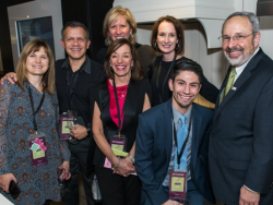 (L to R, front) David Grossman, Joel Africk, (middle) Debbie Buckley, (back) Vickie Bouchard, Abel Sanchez, Marty Wilke and Sharon Buchanan