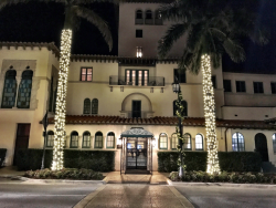 The venerable Everglades Club in PB