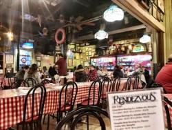 Rendezvous, a legendary BBQ restaurant, in Memphis.