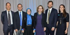 Christian Skoog, Zaher Sahloul, Suzanne Akhras Sahloul, Maria Woltjen, Steve Lehmann and Elizabeth McCostlin