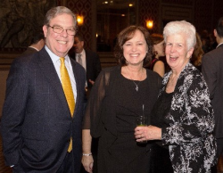 Wintrust's Bill Lynch, Patty Lynch and Sr. Mary Fran McLaughlin