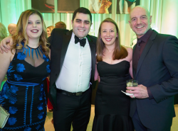 Bri and Nick Coombs (Leslie Hindman Auctioneers), Jennifer Kastenholz and Michael McStraw