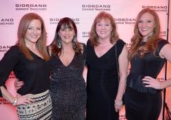 Kelly Dzurgot, Nan Giordano, Linda and Kara McDonald