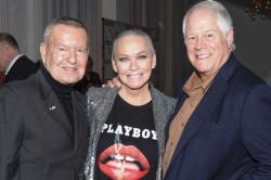 With Michael Kutza and Chuck Jordan