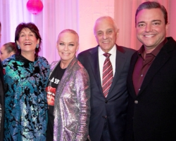 With Maria Pappas, Peter Kamberos and Todd Hatoff