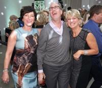Jackie Bucksbaum, Jonathon Wells and Sheri Passalino