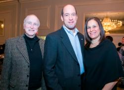 Jack Donahue, State's Attorney Robert Berlin and Carolyn Berlin