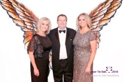 BNPCF founder Kathleen Casey, husband/honoree Greg Kosinski and daughter/co-chair Courtney Krupa