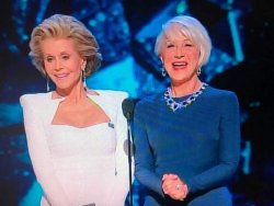 Glam Squad--Jane Fonda and Helen Mirren