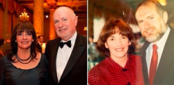Cute then, cuter now 46 years later, Bonnie and Jim Spurlock