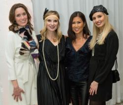 Carol Collins, Tiffany Marshall, Frances Renk and friend