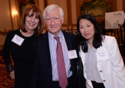 Melinda and Lucien Lagrange with My-Nga Lam