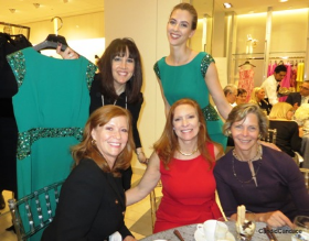 Neiman's GM Wendy Krimins with Joffrey WB members