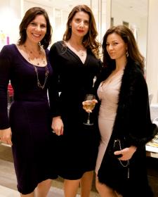 Simona Garcia, Christine Montgomery and friend