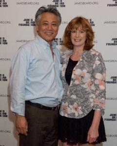 Chef Takaski and Kathy Yagihashi