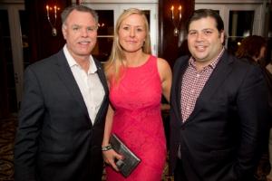 Garry McCarthy, Kristin (Barnette) and RJ Melman
